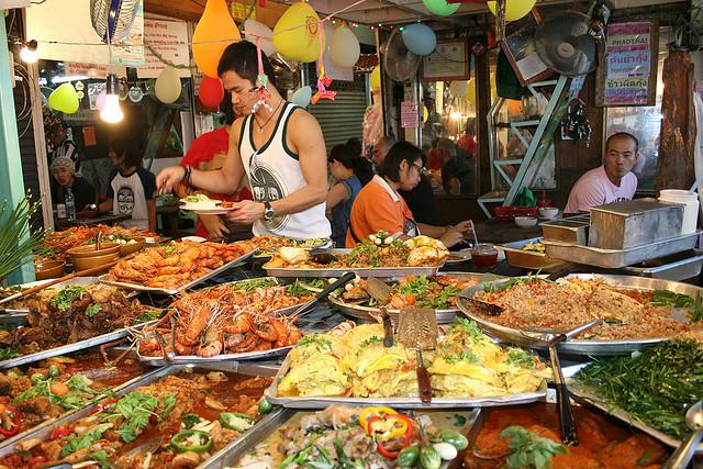 TEFL jobs Bangkok food